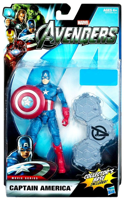 Marvel Legends Avengers Captain America Exclusive Action Figure