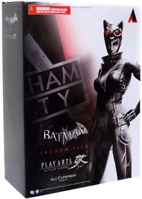 Batman Arkham City Play Arts Kai Series 1 Catwoman Action Figure
