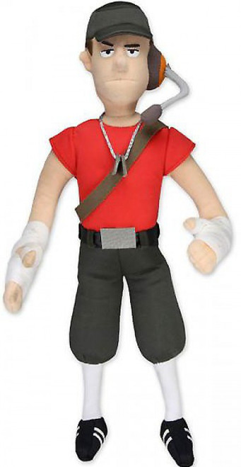 NECA Team Fortress Scout 13-Inch Plush Figure