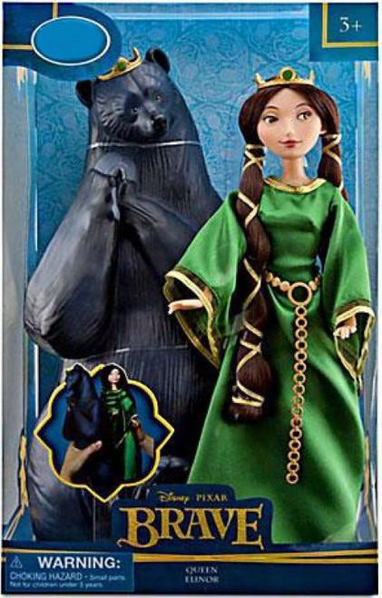 Disney / Pixar Brave Queen Elinor & Bear Exclusive Doll Set