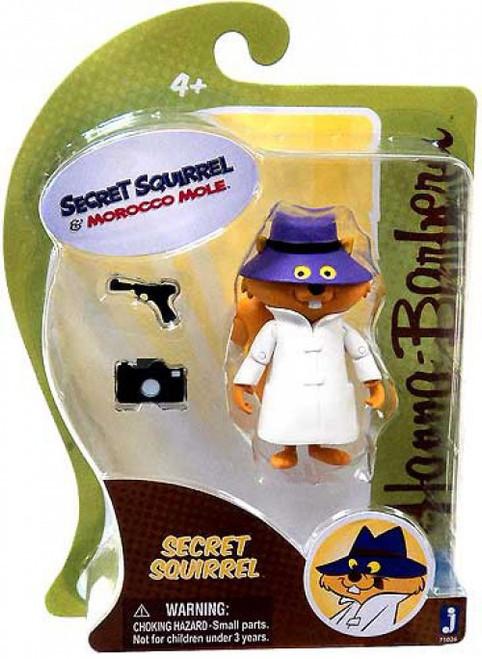 Hanna-Barbera Secret Squirrel & Morocco Mole Secret Squirrel 3-Inch Figure