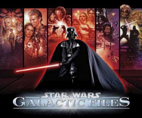 Star Wars Topps Galactic Files Series 1 Trading Card Box [24 Packs]