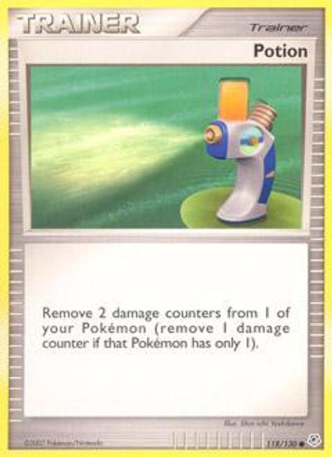 Pokemon Diamond & Pearl Common Potion #118