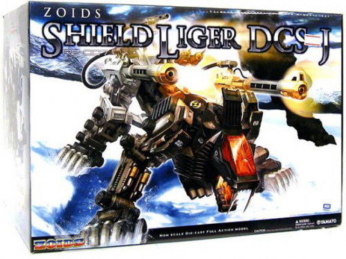 Zoids Shield Liger 18-Inch Diecast Figure