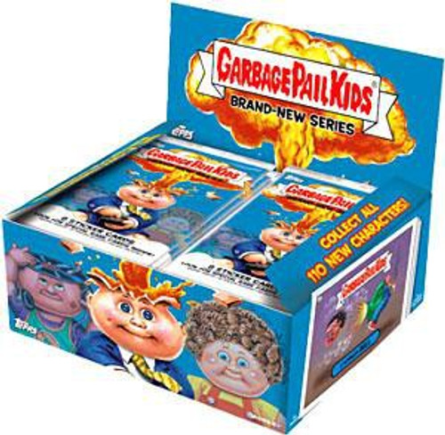 Garbage Pail Kids Topps 2012 Brand New Series 1 Trading Card Sticker Box [24 Packs]