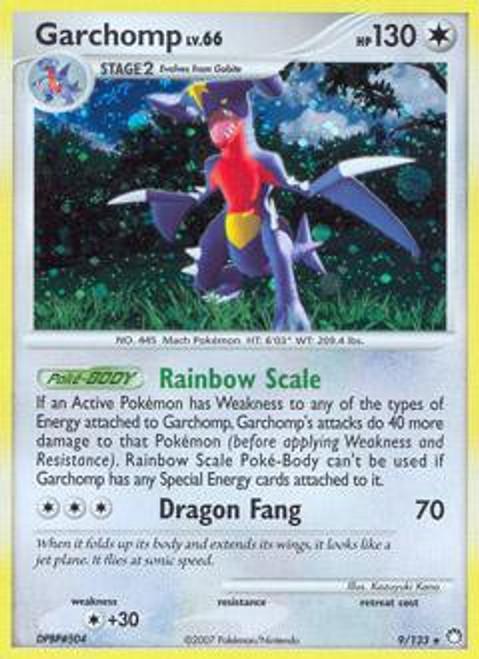 Pokemon Diamond & Pearl Mysterious Treasures Rare Garchomp #9
