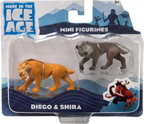 Ice Age Continental Drift Diego & Shira Mini Figure 2-Pack