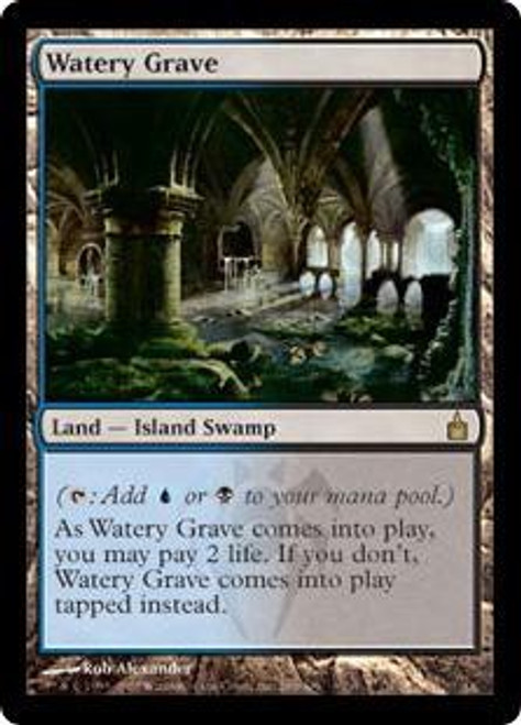 MtG Ravnica: City of Guilds Rare Watery Grave #286