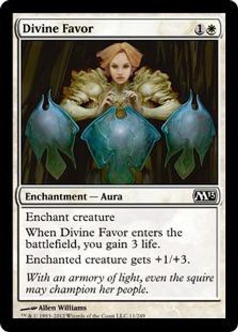 MtG 2013 Core Set Common Divine Favor #11