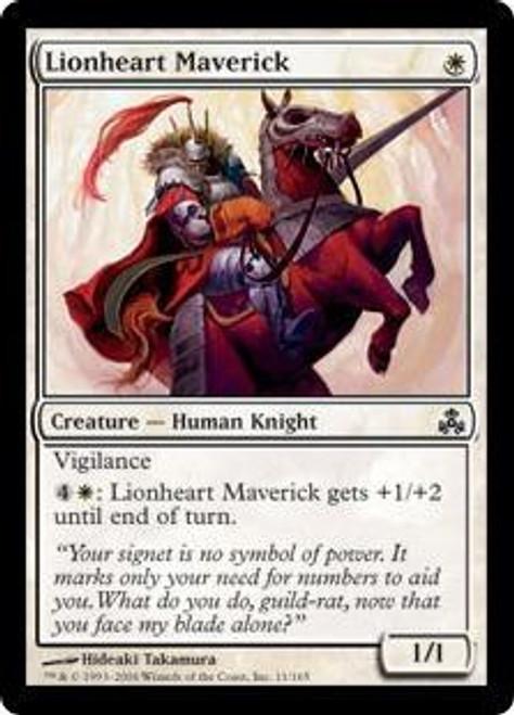 MtG Guildpact Common Lionheart Maverick #11
