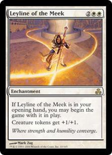 MtG Guildpact Rare Leyline of the Meek #10