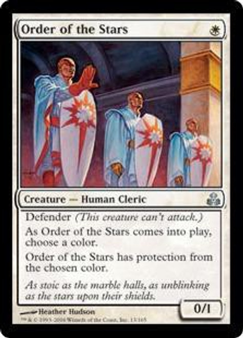 MtG Guildpact Uncommon Order of the Stars #13