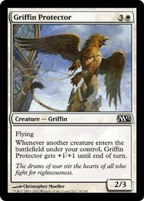 MtG 2013 Core Set Common Griffin Protector #16