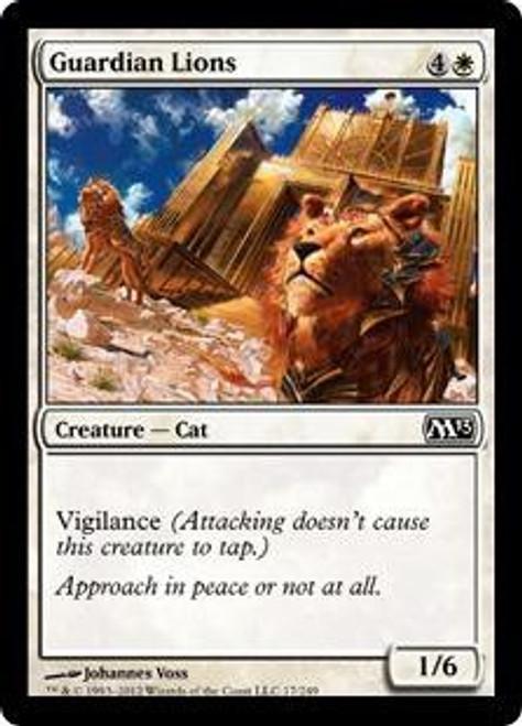 MtG 2013 Core Set Common Guardian Lions #17