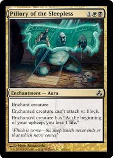 MtG Guildpact Common Pillory of the Sleepless #125