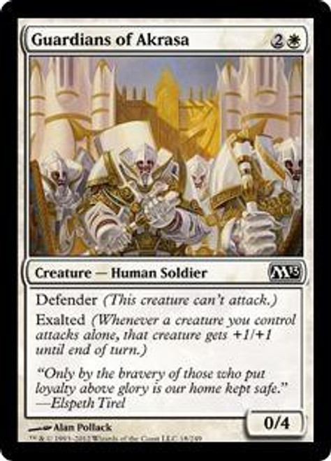 MtG 2013 Core Set Common Guardians of Akrasa #18