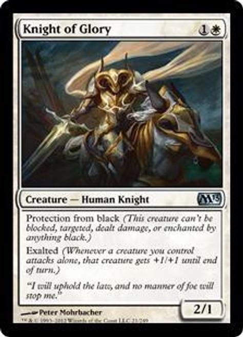 MtG 2013 Core Set Uncommon Knight of Glory #21
