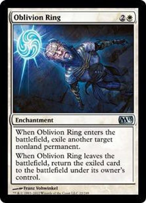MtG 2013 Core Set Uncommon Oblivion Ring #22