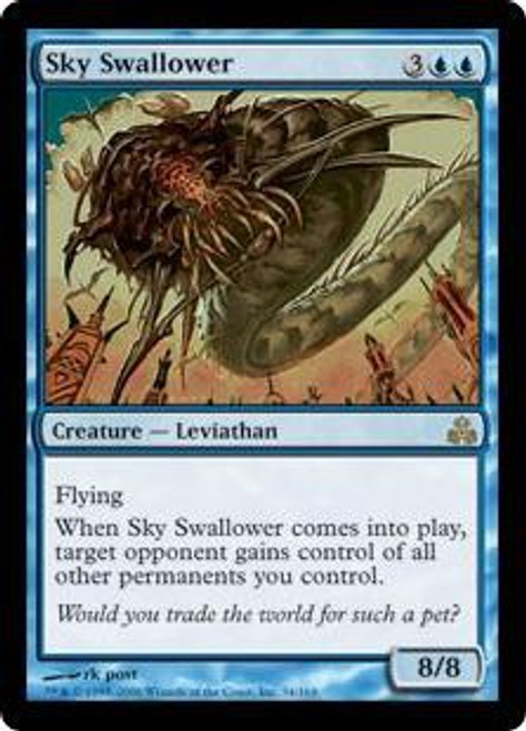 MtG Guildpact Rare Sky Swallower #34