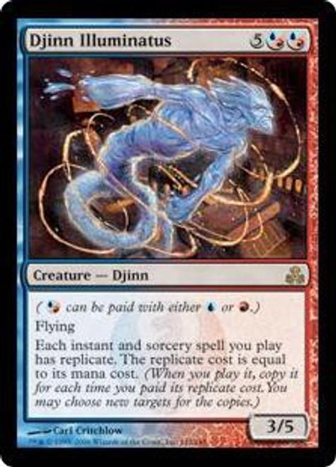 MtG Guildpact Rare Djinn Illuminatus #142