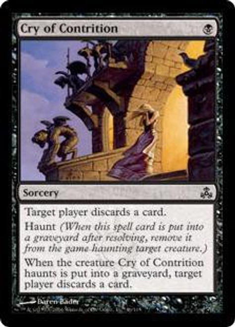 MtG Guildpact Common Cry of Contrition #46