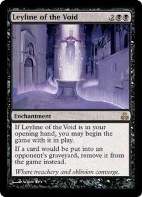 MtG Guildpact Rare Leyline of the Void #52