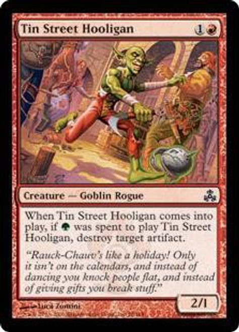 MtG Guildpact Common Tin Street Hooligan #78
