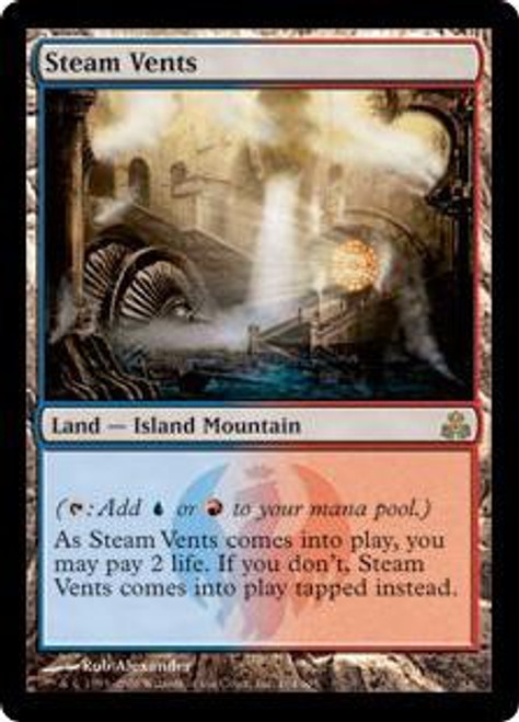 MtG Guildpact Rare Steam Vents #164