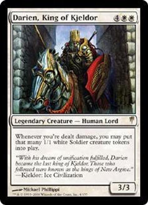 MtG Coldsnap Rare Darien, King of Kjeldor #4