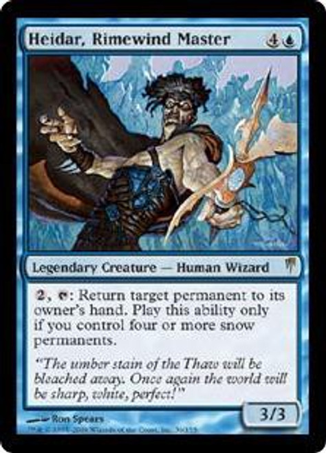 MtG Coldsnap Rare Heidar, Rimewind Master #36