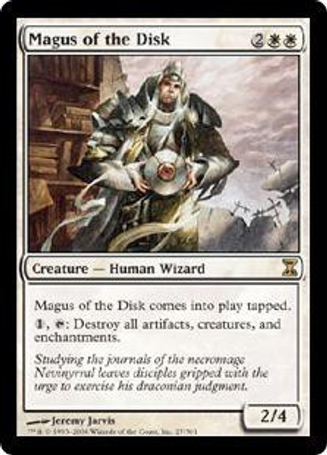 MtG Time Spiral Rare Magus of the Disk #27