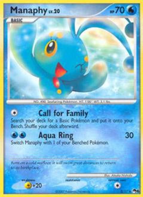 Pokemon Trading Card Game Organized Play Series 6 Rare Manaphy #3