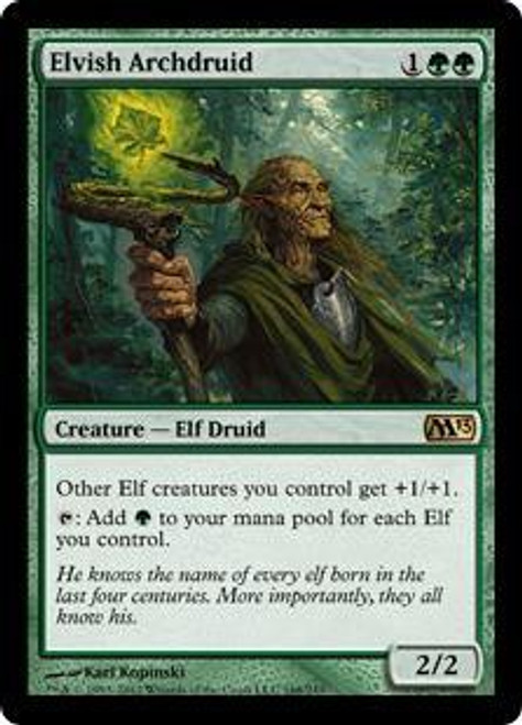 MtG 2013 Core Set Rare Elvish Archdruid #168