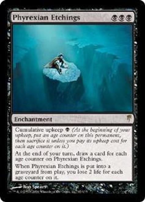 MtG Coldsnap Rare Phyrexian Etchings #67