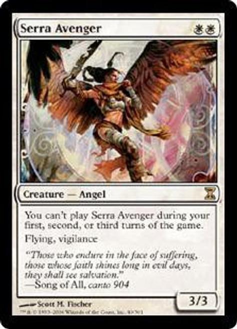 MtG Time Spiral Rare Serra Avenger #40