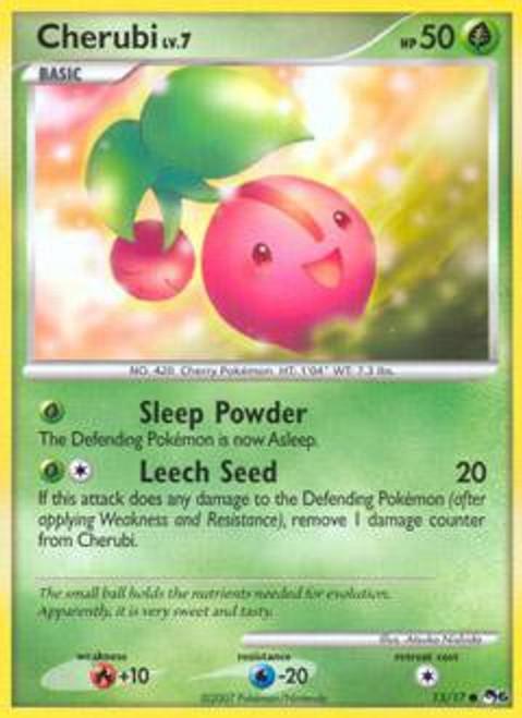 Pokemon Trading Card Game Organized Play Series 6 Common Cherubi #13