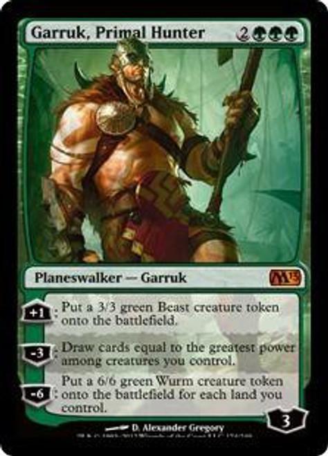 MtG 2013 Core Set Mythic Rare Garruk, Primal Hunter #174