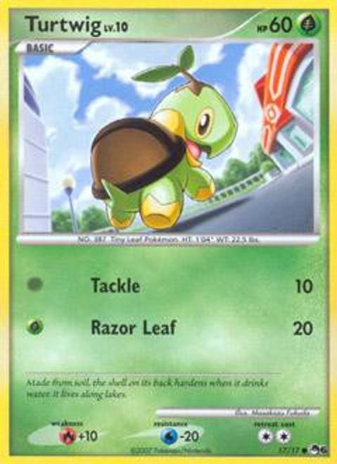Pokemon Trading Card Game Organized Play Series 6 Common Turtwig #17