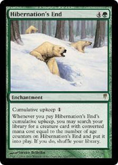MtG Coldsnap Rare Hibernation's End #110