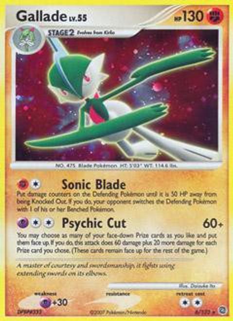 Pokemon Diamond & Pearl Secret Wonders Rare Gallade #6