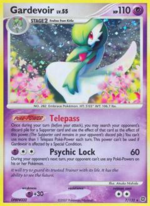 Pokemon Diamond & Pearl Secret Wonders Rare Gardevoir #7