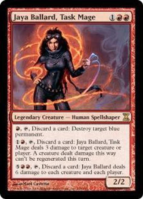 MtG Time Spiral Rare Jaya Ballard, Task Mage #166