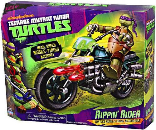 Teenage Mutant Ninja Turtles Nickelodeon Rippin Rider Motorcycle Action Figure Vehicle