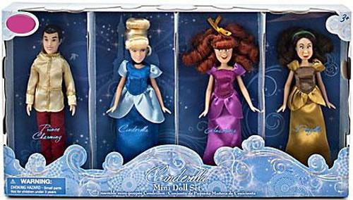 Disney Princess Cinderella Mini Exclusive Doll Set