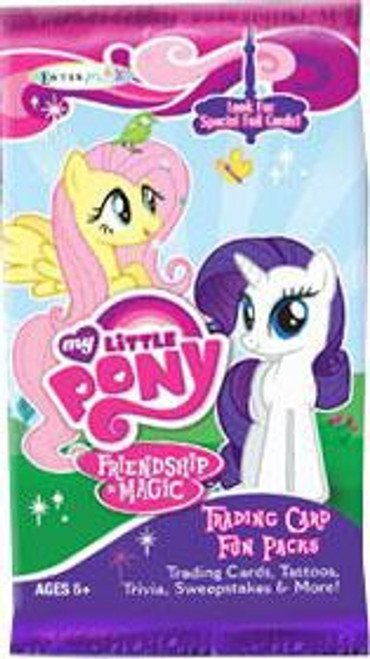 Friendship is Magic My Little Pony Series 1 Trading Card Pack [4 Cards + 1 Special Card!]