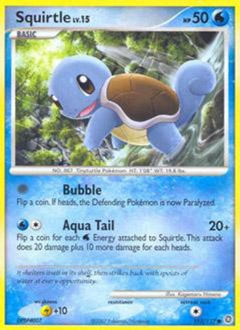 Pokemon Diamond & Pearl Secret Wonders Common Squirtle #112