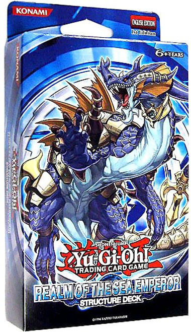 YuGiOh Trading Card Game Realm of the Sea Emperor (1st Edition) Structure Deck