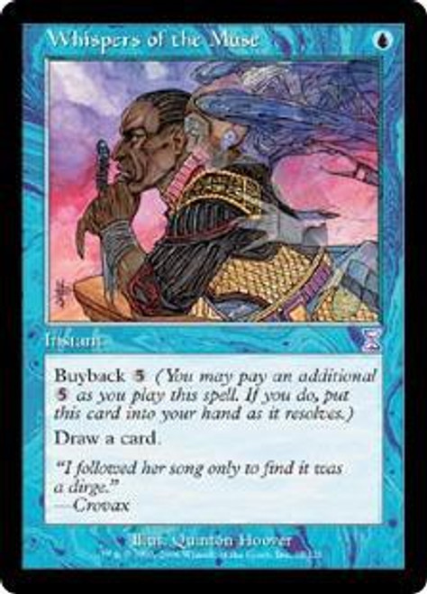 MtG Time Spiral Timeshifted Timeshifted Whispers of the Muse #35