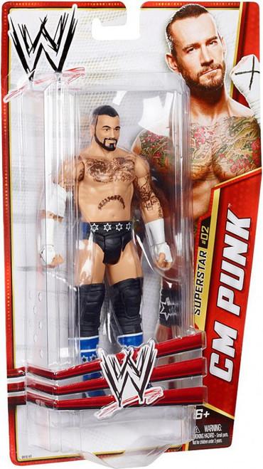 WWE Wrestling Series 24 CM Punk Action Figure #2