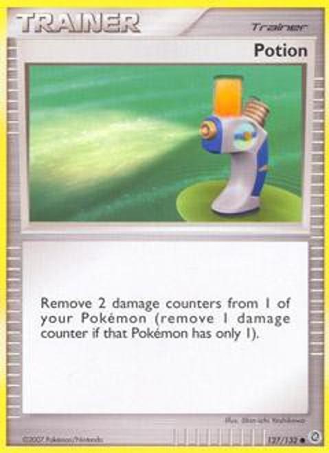 Pokemon Diamond & Pearl Secret Wonders Common Potion #127